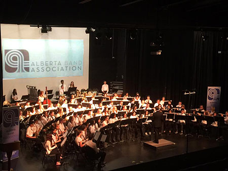 2016 Southern Alberta Junior Honour Band