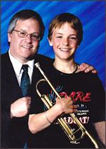 ABA Board member Bob Bailey and son PJ